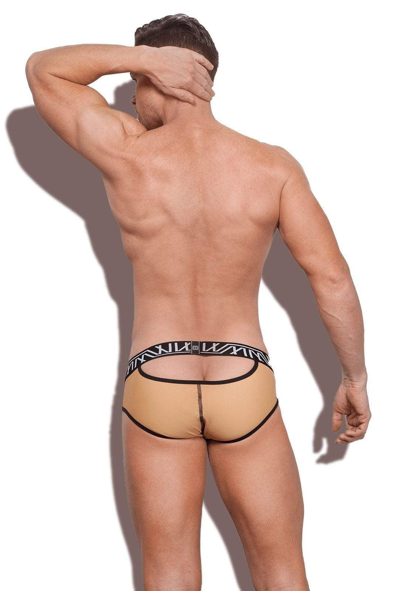 SexyMenUnderwear.com Marco Marco Brief Flux Half-Moon Signature sexy underwear Open-Back Nude 3