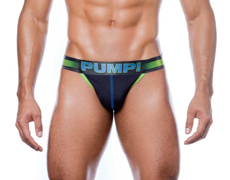 SexyMenUnderwear.com PUMP! Briefs PLAY 2020 New Soft Lycra Cotton Side-Cut Brief Green 12054 51