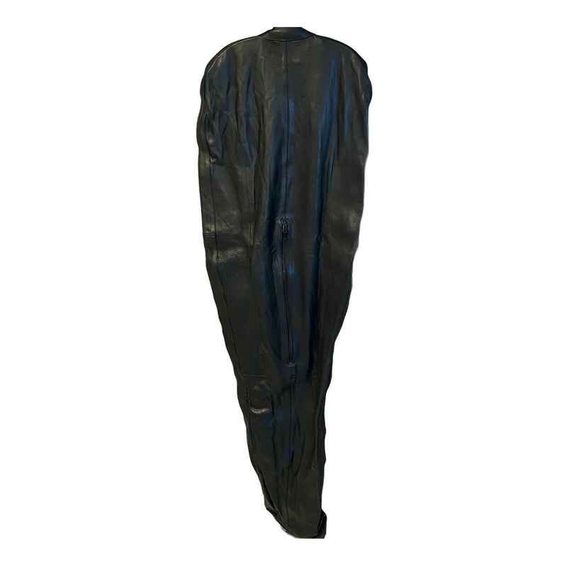 SexyMenUnderwear.com SMU LEATHER SLEEP SACK  internal arm restraint