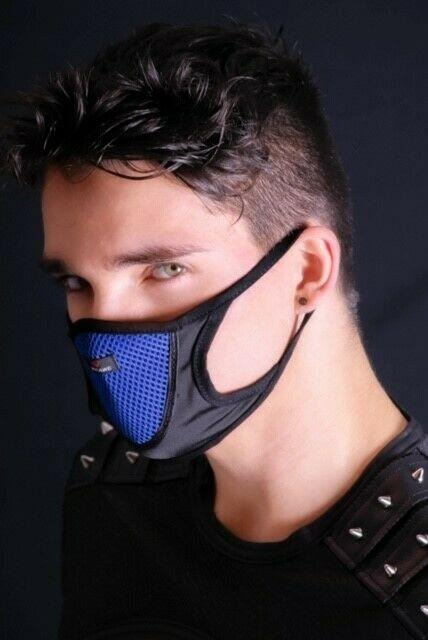 SexyMenUnderWear Face Protection Anti Dust Protect With Style Blue