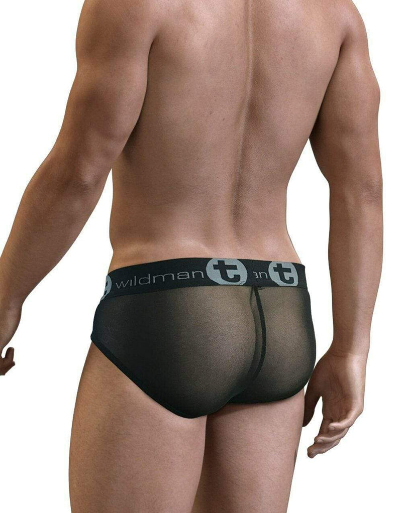 Wildmant WildMant Brief Slut Big Boy Pouch With Back See-Through SLBR-ASS 1