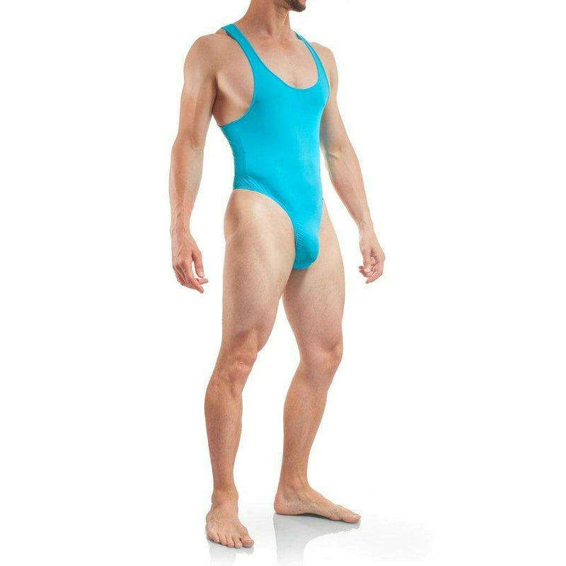 WOJOER TangaBody Mens Swimsuit Maillot homme Swimwear Men Beach Suit BLU 320s5 4
