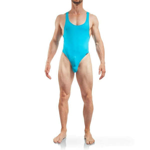 Wojoer WOJOER TangaBody Mens Swimsuit Maillot homme Swimwear Men Beach Suit BLU 320s5 4
