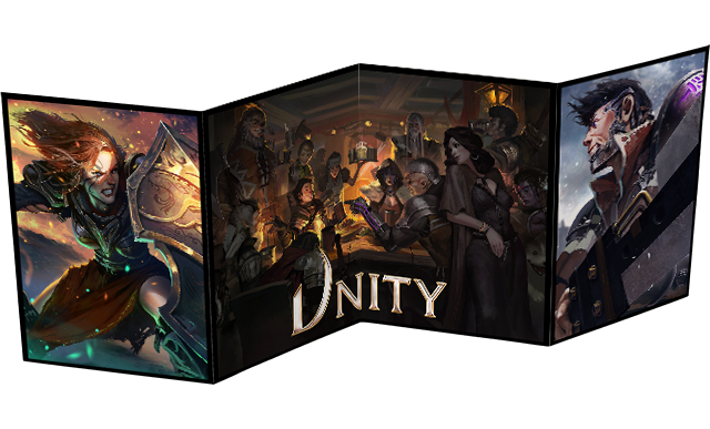 LIMITED PRINT: Unity Game Master's Screen