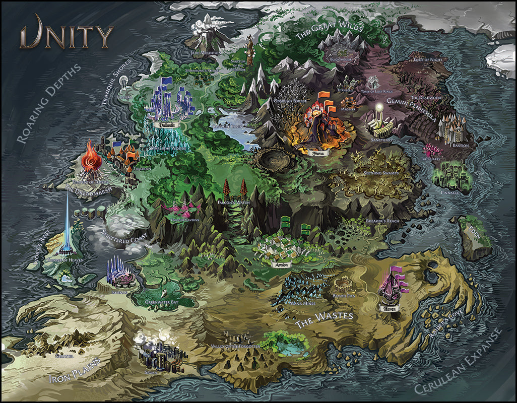 LIMITED PRINT: Poster Size World Map