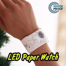Load image into Gallery viewer, ⭐50% off on Super Black Friday Shopping Festival ⭐LED Paper Watch Smart Bracelet
