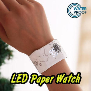 ⭐50% off on Super Black Friday Shopping Festival ⭐LED Paper Watch Smart Bracelet