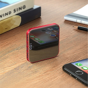 Mini Power Bank 20000 mAh Portable Charger External Battery PowerBank for Mobilephone