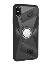 Load image into Gallery viewer, iPhoneX game phone case, imitation leather pattern, car magnetic anti-drop mobile   phone case