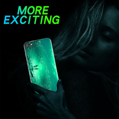 Amazing luminous iphone and oppo phone case