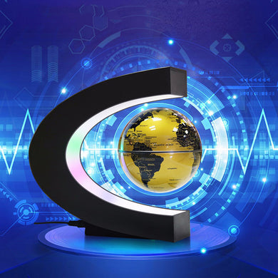 Maglev Globe With LED Night Light For The Magic Gift