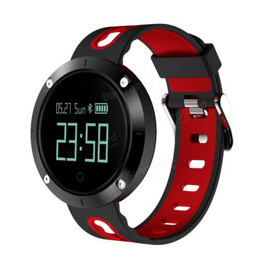 DM58 Heart Rate+Blood Pressure Waterproof Fitness Tracker Sports Smart Bracelet