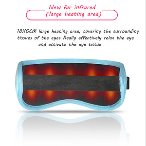 Charging heating steam eye protection mask- Get free Ice packs and earplugs