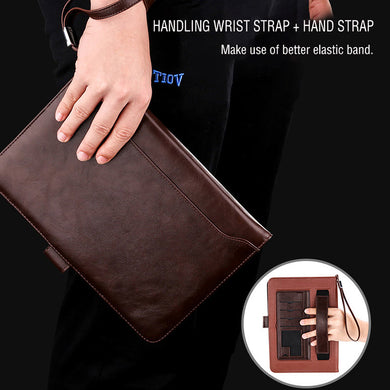 iPad simple business leather case