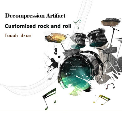 Decompression Artifact  Mini Fingertip Touch Drum