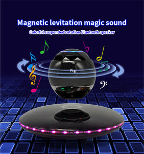 Hi-fi portable wireless bluetooth stereo magnetic levitation wireless subwoofer   speaker box