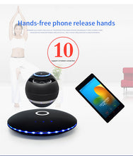 Load image into Gallery viewer, Hi-fi portable wireless bluetooth stereo magnetic levitation wireless subwoofer   speaker box
