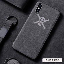 Load image into Gallery viewer, Sports car suede leather iphone phone case