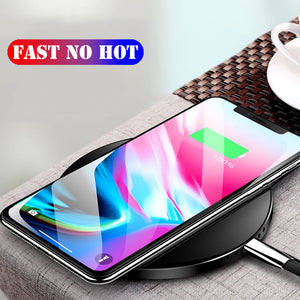 Wireless Charger Up To 50% Faster Not Hot