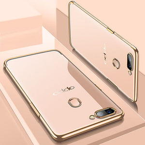 OPPO plated three-segment phone case-BUY ONE GET ONE FREE