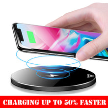 Load image into Gallery viewer, Wireless Charger Up To 50% Faster Not Hot