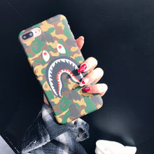 Load image into Gallery viewer, Shark big mouth scrub iphone phone case