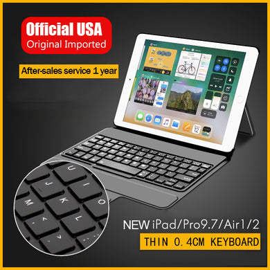 2in1 new iPad Wireless Bluetooth keyboard case Bluetooth3.0 keyboard  holster