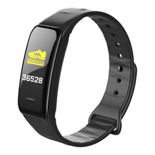 Load image into Gallery viewer, DGT-C1Plus Color Screen Smart Bracelet Blood Pressure C1Plus Smart Heart Rate Monitor Fitness Tracker Sport Smart Wristband