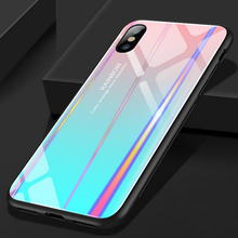 Load image into Gallery viewer, Aurora gradient iphone and oppo phone case