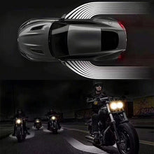 Load image into Gallery viewer, Partol 2Pcs Angel Wings Car Welcome Light Shadow Light Projector