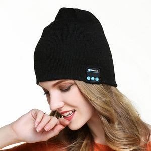 Wireless Bluetooth 4.2V Hat with Microphone Wireless Music Headset Sport Headphone