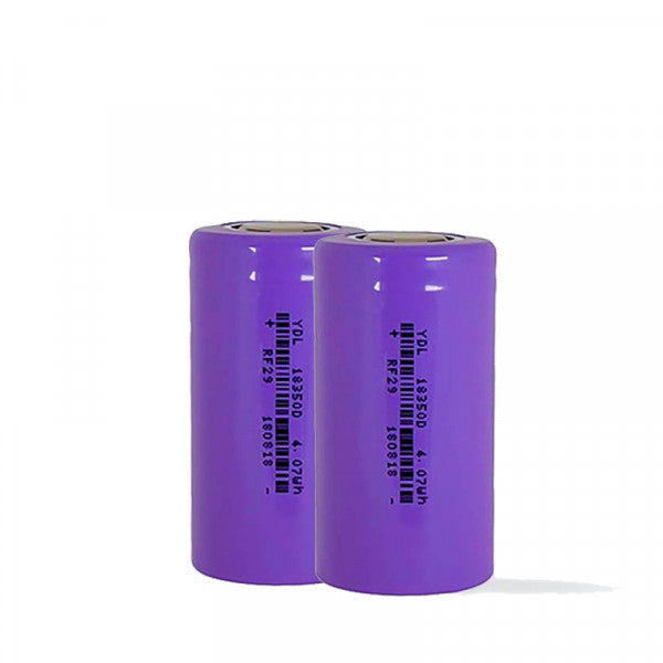 YDL 18350 Battery Twin Pack 1100mAh