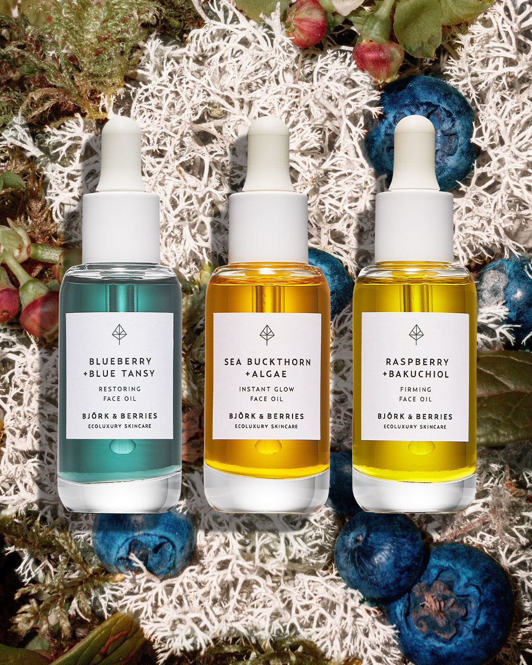Introducing our face oil trio