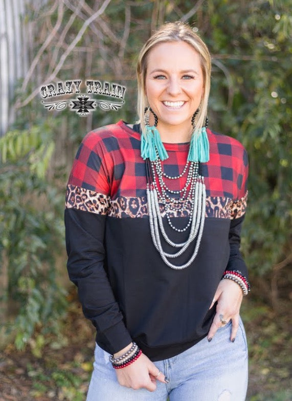 CT Buffalo Plaid Pullover