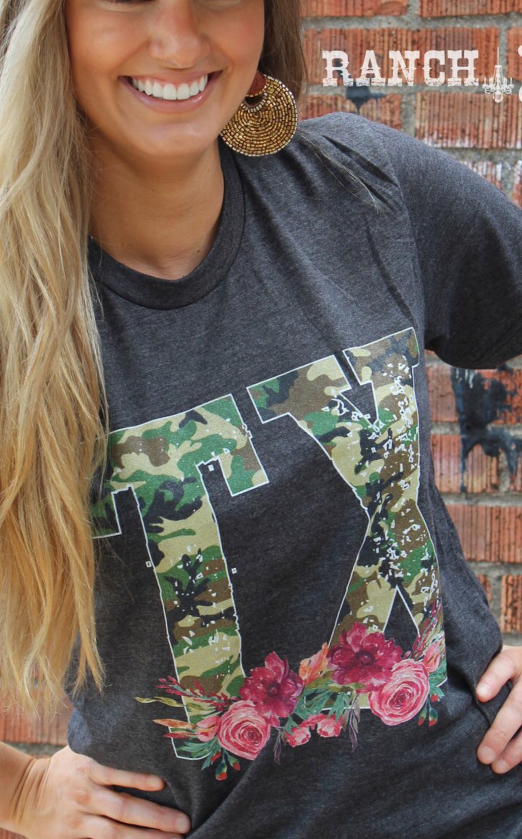 RSD Long Sleeve Camo Texas Tee