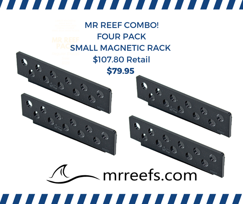 Four Pack -Frag Rack, Magnetic -Small