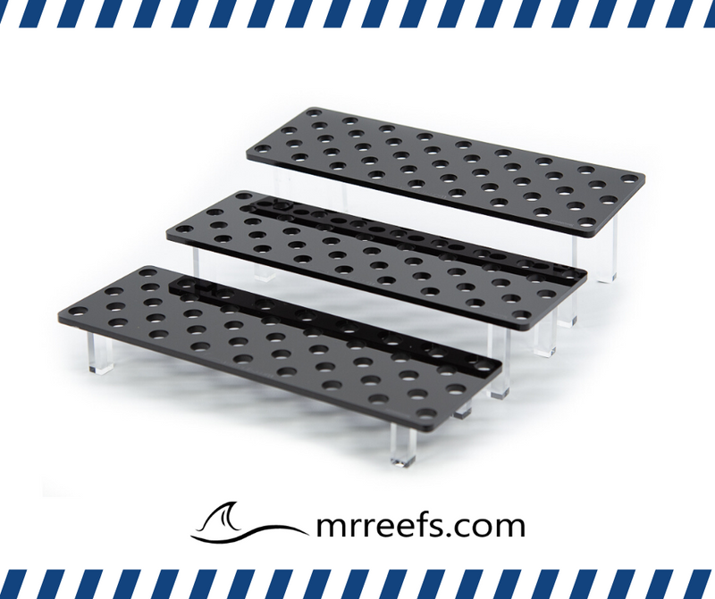 Frag Rack - Medium - Black 3 Pc Set Holds up to 129 Frags!