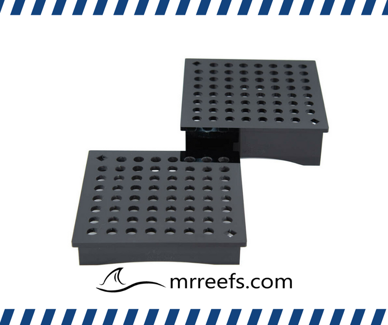 "Frag Rack, Square - Set of 1"" and 2"" Legs"