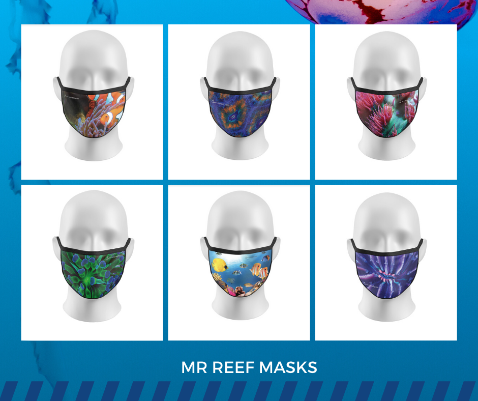 The Reef Mask - Complete Set of 6