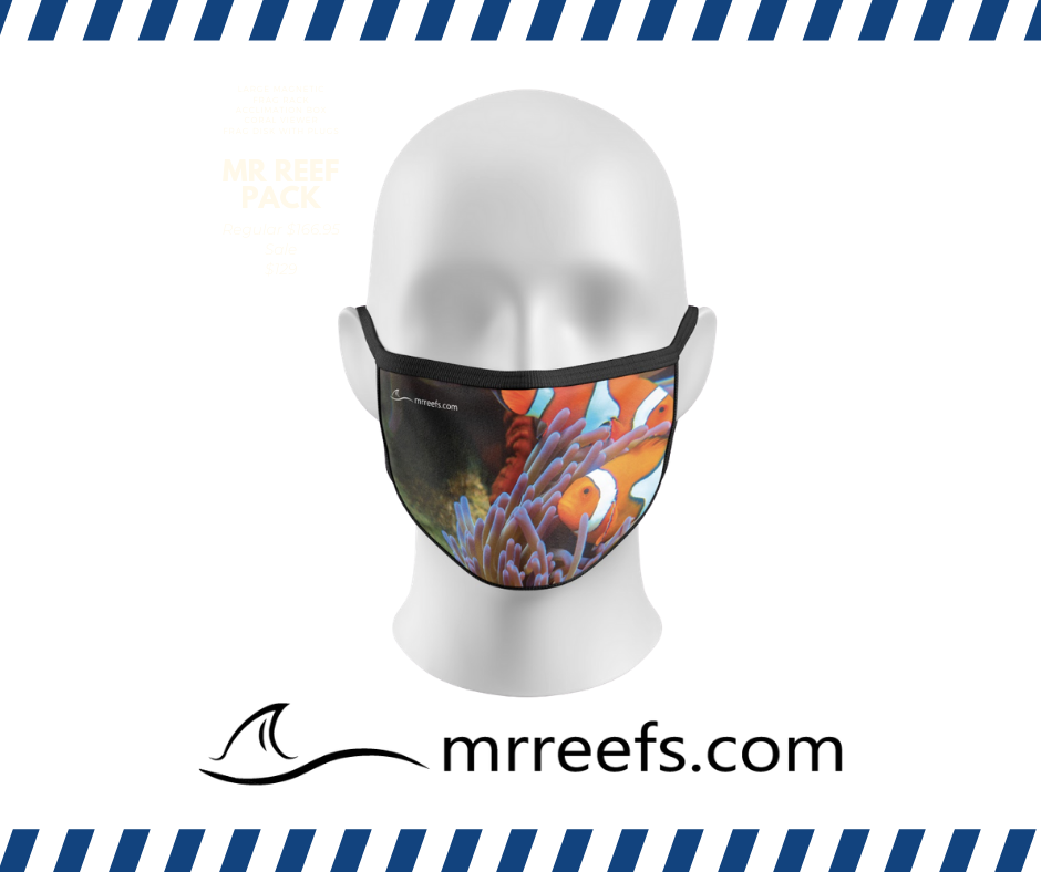 MR Reef Mask - Clowns and Anemone - NOW IN STOCK!