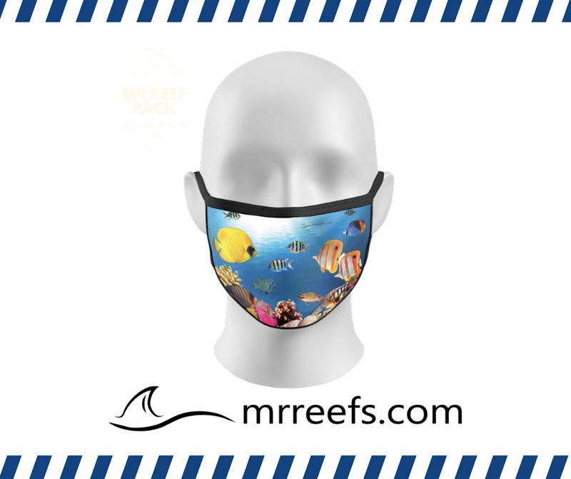 MR Reef Mask - Coral Reef - NOW IN STOCK!