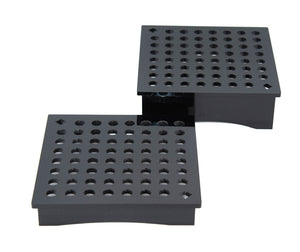 "Square Transport Rack - Set of 1"" and 2"" Legs"