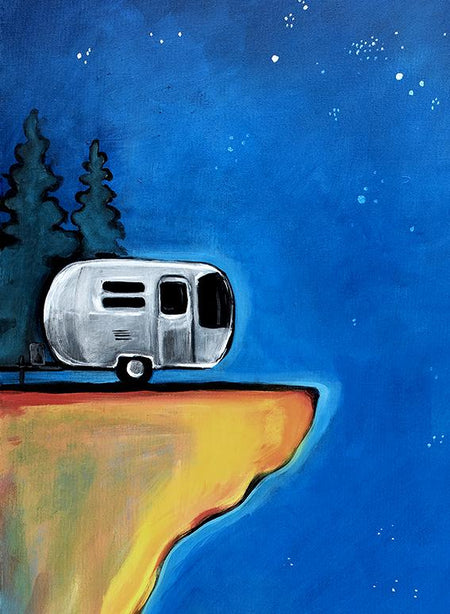 AIRSTREAMS, RVS, & CAMPING art