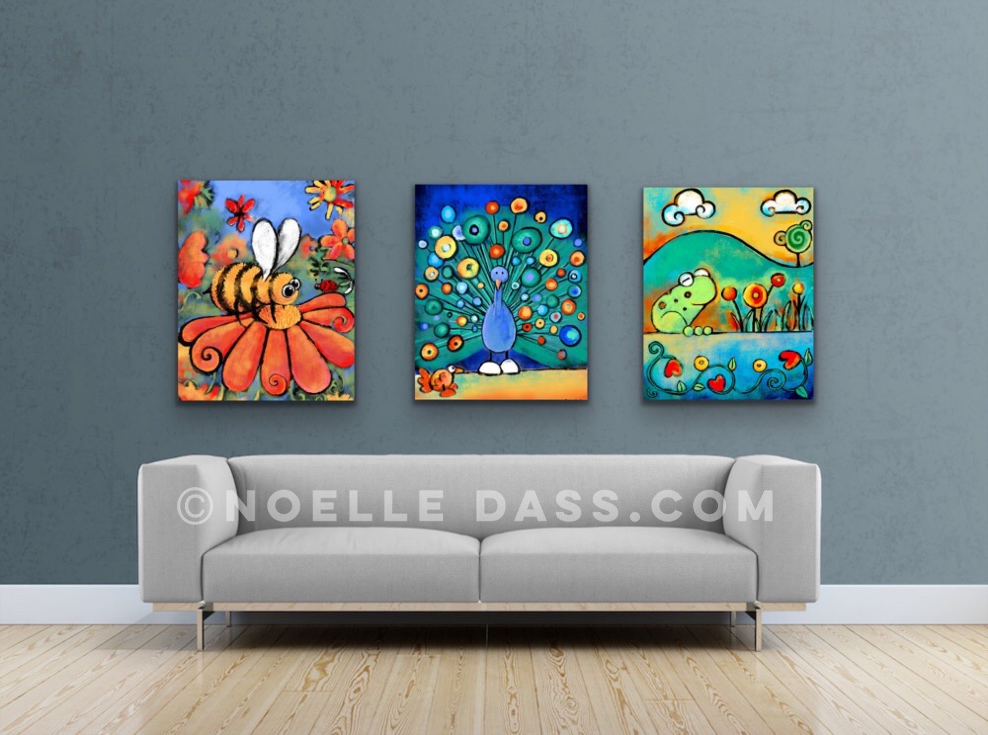 art for children and pediatric and kids rooms