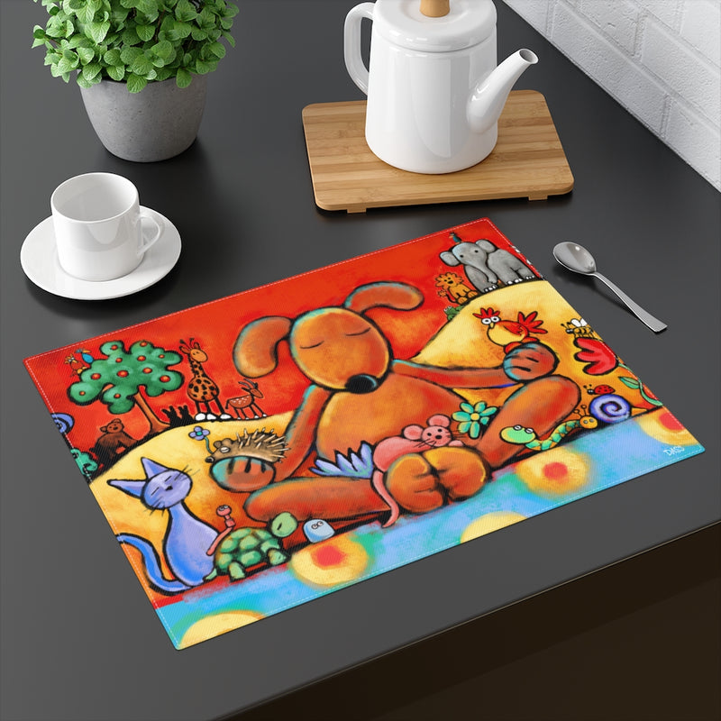 The Doggie Lama Placemat