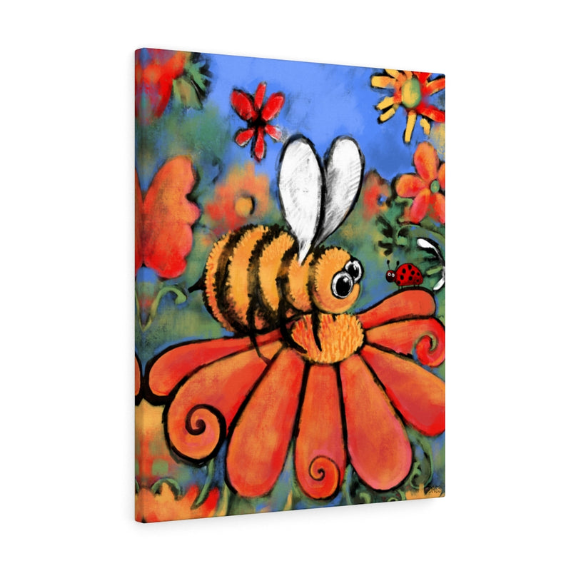 A Bee's Day Out Canvas Gallery Wraps