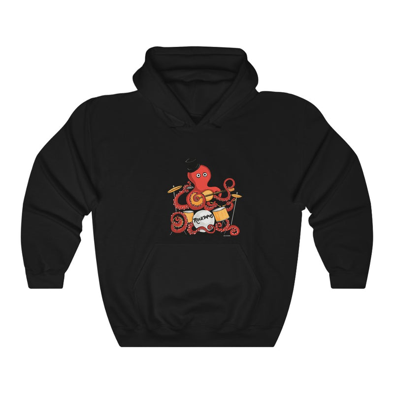 Rocktopus Octopus Unisex Hooded Sweatshirt