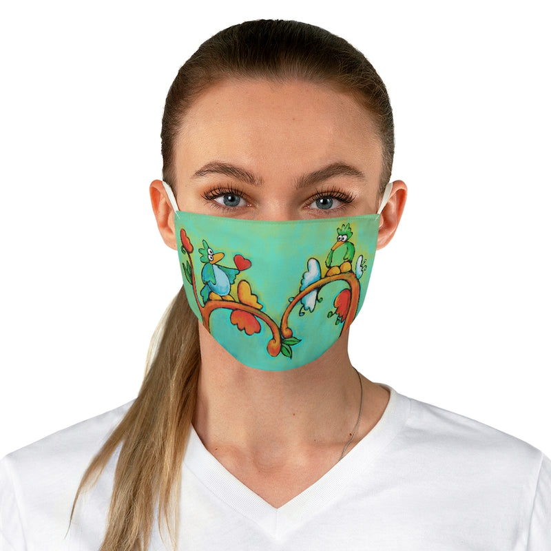 A New Hope Love Birds Fabric Face Mask
