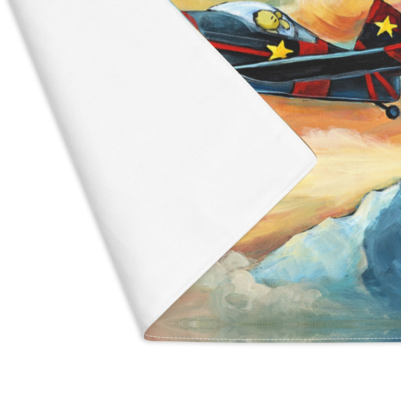 Flying Dreams Pilot Dog Placemat