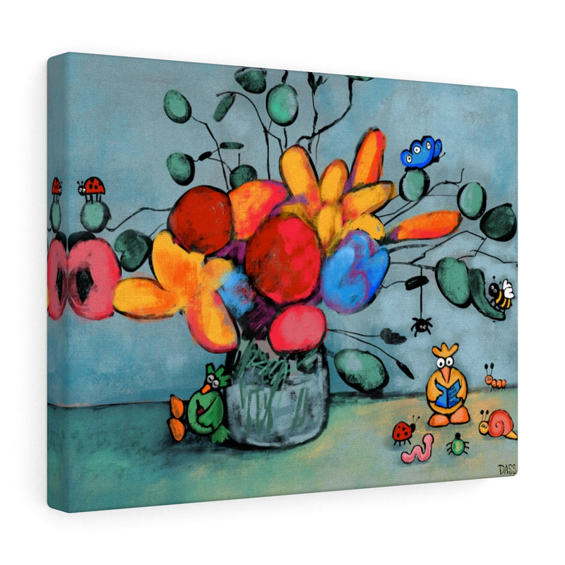 Homeschooling Canvas Gallery Wraps
